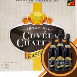 Bia Cuvee Du Chateau 11% Bỉ – chai 330 ml