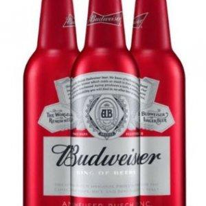 Bia Budweiser 5% Mỹ - chai nhôm