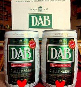 Bom 5l bia DAB