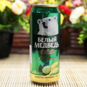 Bia Gấu Sáng Nga 4,8% lon cao