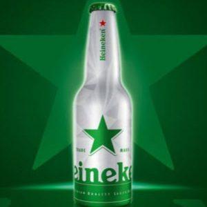 Bia Heineken Hà Lan 5% (Chai nhôm 330ml) - 24 chai
