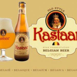 Bia Kastaar 5,5% Bỉ chai 330ml thùng 24 chai