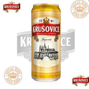 Bia A.Krušovice Imperial 500ml thùng 24 lon