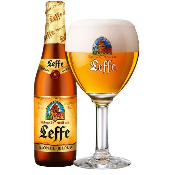 Bia Leffe vàng 6,6% Bỉ chai 330ml