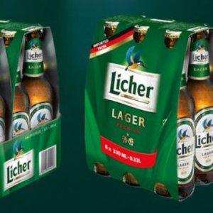 Bia Licher 5% Đức – chai 330 ml thùng 24 chai