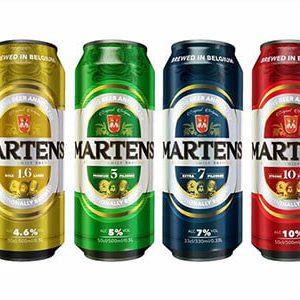 Bia Martens Extra Strong 12.2% – Lon 500ml – Thùng 24 Lon