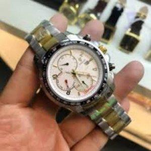 Đồng hồ Civstic 6 kim dây kim loại CI001
