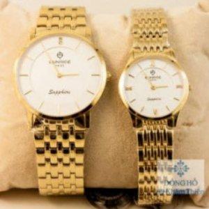 Đồng hồ đôi Ray Rucci số đính đá – RR001