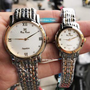 Đồng hồ đôi Ray Rucci Số La Mã