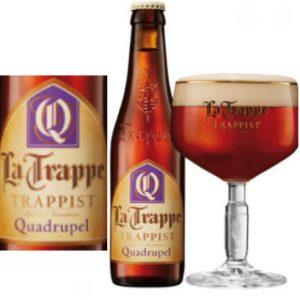 Bia La Trappe Quadrupel 10% Hà Lan 330ml