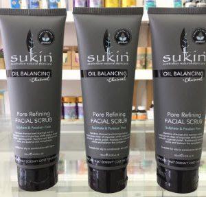 Kem tẩy tế bào chết Sukin Oil Balancing Pore Refining Facial Scrub