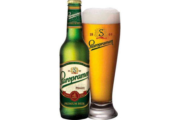 Bia Staropramen của Tiệp Khắc