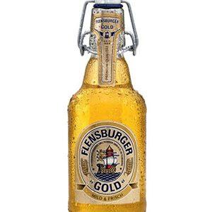 Bia Flensburger Gold 4,8% – Chai 330ml – Thùng 24 Chai