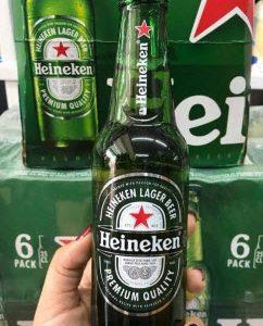 Bia Heineken Pháp chai 250ml thùng 20 chai