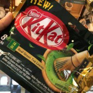 Kitkat trà xanh 170g