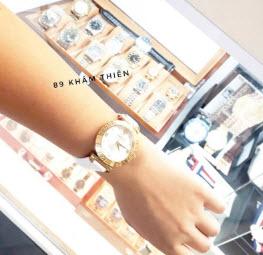 Đồng hồ Versace nữ dây da thời trang VE011