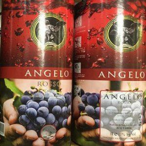 Bịch ống Rượu Vang Ý ANGELO PRIMITIVO NEGROAMARO
