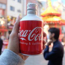 Coca Cola Nhật Bản lon 300ml - thùng 24 lon