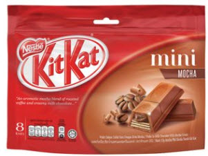 Kit Kat Mini Cookies and Cream – túi 8 thanh