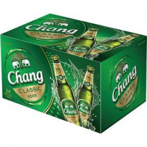 Bia Chang Thái Lan chai 320ml 5% - Thùng 24 chai