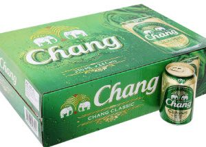 Bia Chang lon 330ml 5% Thái Lan - Thùng 24 lon