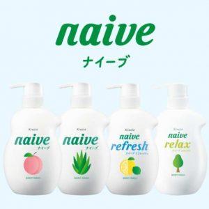 Sữa tắm Naive Refresh 530ml Nhật Bản