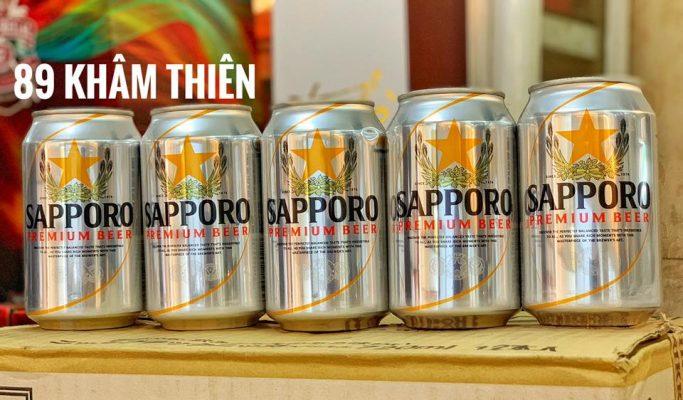 Bia 5% lon 330ml thùng 24 lon chính hãng Nhật Bản