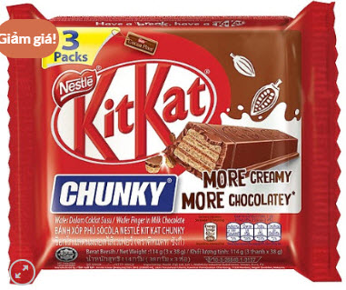 Kitkat Chunky Socola 114g