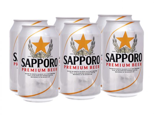 Mua Bia 5% lon 330ml thùng 24 lon chính hãng Nhật Bản