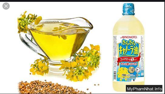 Dầu ăn hạt cải Ajinomoto là loại dầu ăn tốt nhất được hội nghiên cứu trường đại học Havard .Được sản xuất tại nội địa Nhật Bản