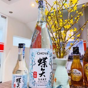 Rượu CHOYA Sake Tokusen 1800ml Nhật bản