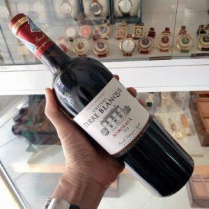Rượu Vang Chateau Terre Blanque Pháp chai 750ml thùng 6 chai