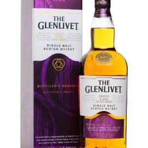 Rượu Whisky The GLENLIVET Triple Cask (Tím) 1824