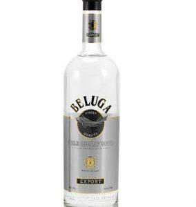 Rượu Vodka BELUGA Trắng 1000ml Nga cao cấp Noble