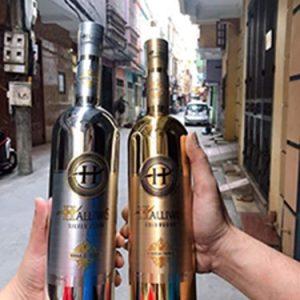 Rượu Vodka Halliwis Pháp 700ml cao cấp với 2 phiên bản trắng và vàng