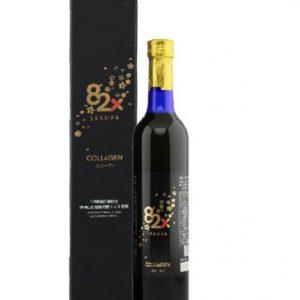 Nước uống Collagen 82x 120000mg Nhật Bản 500ml nhãn đen