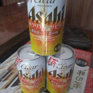 Bia Asahi nội địa Nhật Bản lon 350ml