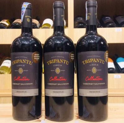 Vang Chile Tripantu Reserve Cabernet Sauvignon 700ml - rượu vang chile