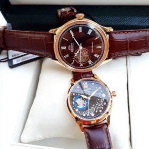 Đồng hồ Orient Auto cặp đôi phiên bản cafe ngọt lịm