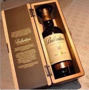 Rượu Ballantines 30 tuổi 700 ml thiết kế hộp gỗ sang trọng