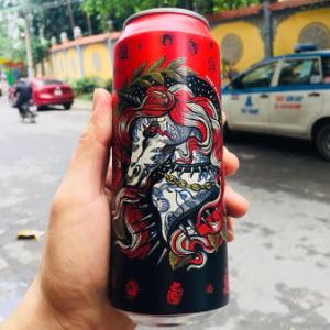 Bia Slash Red 8%