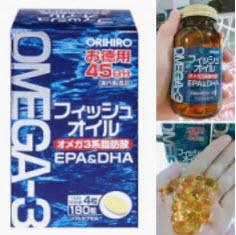 Viên uống Omega-3 Orihiro Nhật Bản