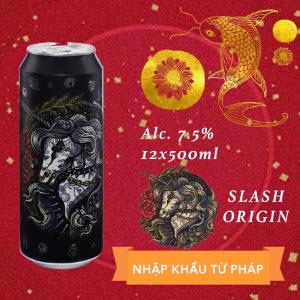 """Bia Slash Origin- tác phẩm nghệ thuật """"ngựa thần"""" của Pháp"""