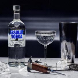 Rượu Absolut Vodka-Vodka chữ A