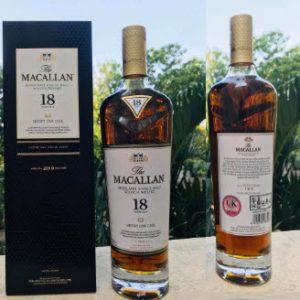 Rượu Macallan Sherry Oak 18 năm