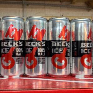 Bia Becks Ice - bia Đức phiên bản đặc biệt