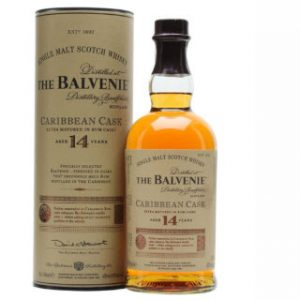 Rượu Balvenie 14 Caribbean Cask Single Malt Whisky